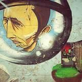 Graffiti in Genval - introspective: retrospective.