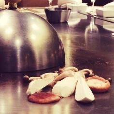 Mushrooms prep