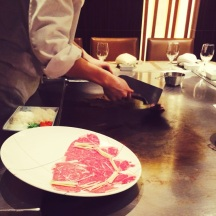 The art of Teppanyaki