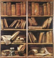 old-english-library-books