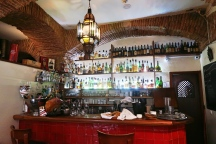 Bar at the Meson Andaluz