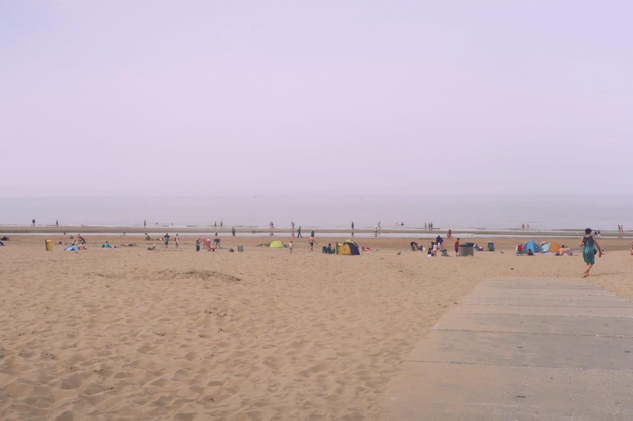 The sea at Noordwijk