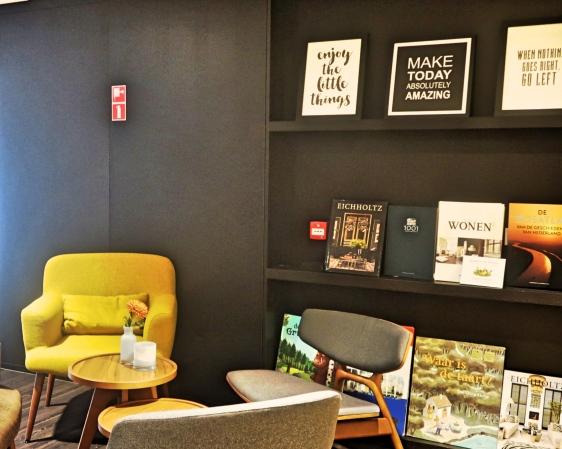 Cosy reading corners