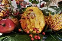Autumn table arrangements