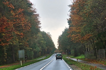 Enroute from Amsterdam to Oosterbeek