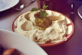 Hummus with Jalapenos