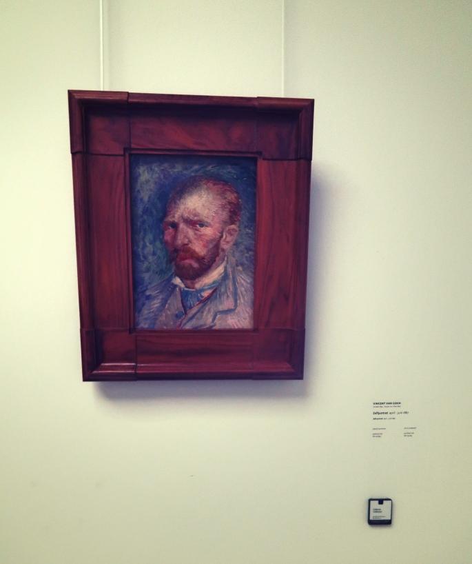 Vincent van Gogh, self potrait