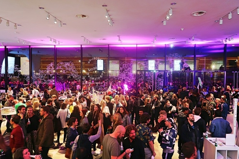 Stedelijk Museum on Museum Night
