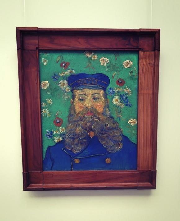 Portrait of Joseph Roulin, Vincent van Gogh