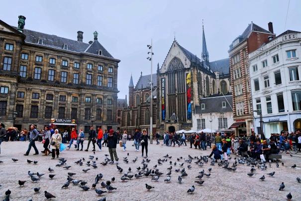 Dam Square, Nieuwe Kerk