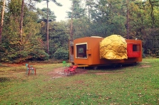 Mobile home for Kroller Muller by Joep van Lieshout