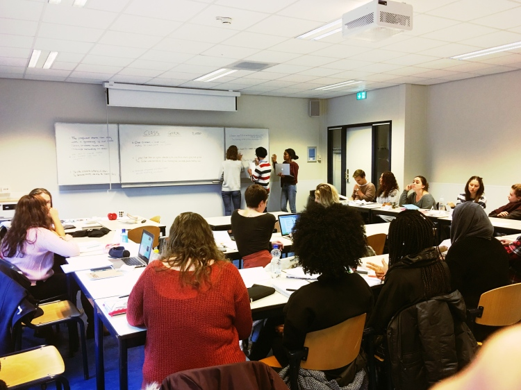 Lecture on the Ghazal by Amrita Das for Vrije Universteit: Genre, Literature and Analysis, Bachelor First Year course